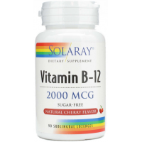 VIT B12 2000MG SUBLINGUAL 90 TAPS