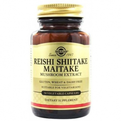 REISHI SHIITAKE MAITAKE 50 CAPSULAS SOLGAR SOLGAR 50 CAPSULAS