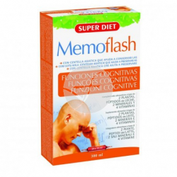MEMOFLASH 20 VIALES SUPER DIET
