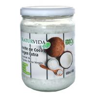 aceite de coco virgen extra bio 400gr 430ml