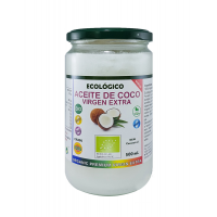 aceite de coco virgen extra ecologico 500ml