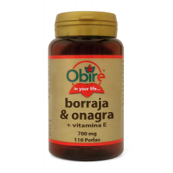BORRAJA Y ONAGRA 700MG 110 PERL