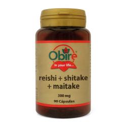 REISHI SHITAKE MAITAKE 300MG 90CAPS