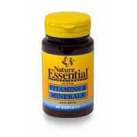 ne vitaminas y minerales 600mg 60 comp