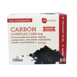 NE CARBON COMPLEX 1500MG 60 CAP