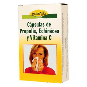 CAPSULAS PROPOLIS VITAMINA C Y ECHINACEA 75CAPS