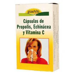 CAPSULAS PROPOLIS VITAMINA C Y ECHINACEA 30CAPS