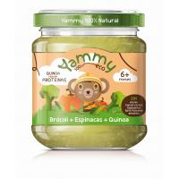 potito bio brocoli espinacas quinoa 195 gr y 6meses