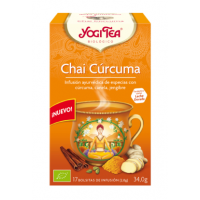 yogi tea chai curcuma bio 17 bolsitas