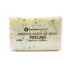 JABON T PEELING (CASCARA NUEZ Y LAVANDA) 100GR