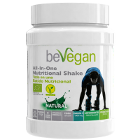 bevegan all in one natural nutricional shake 600gr
