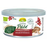 pate quinoa shiitake arandanos bio 125gr