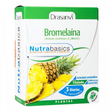 BROMELAINA 48 CAPS NUTRIBASICS DRASANVI