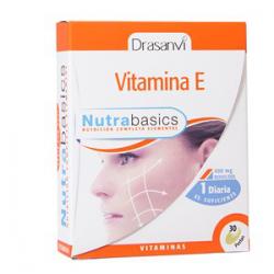 VITAMINA E 30 CAPS NUTRABASICS DRASANVI