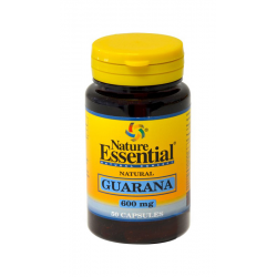 NE GUARANA 600 MG 50 CAPSULAS