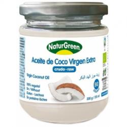 ACEITE DE COCO VIRGEN BIO 200GR NATUR-GREEN