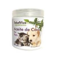 ACEITE DE COCO PARA MASCOTAS SALUD VIVA 225GR