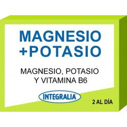 MAGNESIO + POTASIO 60 CAPSULAS INTEGRALIA