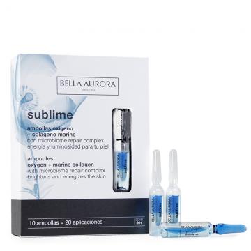 SUBLIME AMPOLLAS OXIGENO+COLAGENO 10X2ML