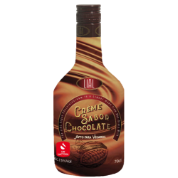 CREMA DE CHOCOLATE CON ALCOHOL VEGANO LIAL 700ml