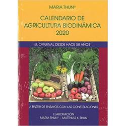 CALENDARIO DE AGRICULTURA BIODINAMICA 2020. EL ORIGINAL