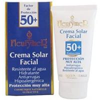 crema solar facial spf 50 y tubo 80ml