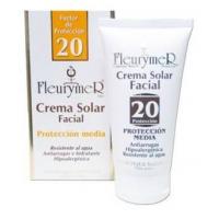 crema solar facial spf 20 tubo 80 ml