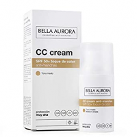 CC CREAM SPF 50+ tono medio 30ml. (BELLA AURORA)