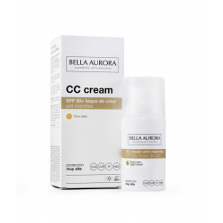 CC CREAM SPF 50+ tono claro 30ml. (BELLA AURORA)
