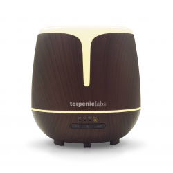 DIFUSOR LIRA ULTRASONIDO MUSICA BLUETOOTH TERPENIC LABS