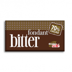 Chocolate Negro 70% Sin Gluten Chocolates Sole