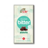 Chocolate Bitter Con Stevia 72% Cacao Chocolates Sole