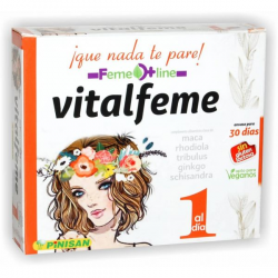 Vitalfeme Vitalidad Feme Line 30 Capsulas Pinisan