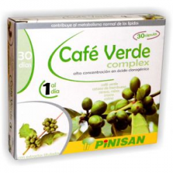 Café Verde Complex Pinisan 30 cápsulas