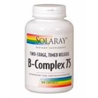 B-COMPLEX 75 (100 CÁPSULAS DE ACCIÓN RETARDADA)- SOLARAY