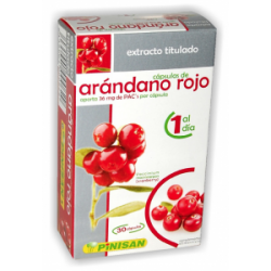 EXTRACTO TITULADO ARÁNDANO ROJO PINISAN